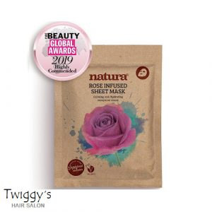 BeautyPro Natura Rose Sheet Mask